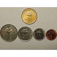 Малайзия 1,10,20,50 сенов,1 ринггит 1992-2004г