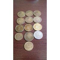 Сборный лот монет Польши