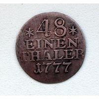 1/48  Рейхс Талера 1777  Прусиия