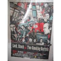 Плакат постер фильма Карты деньги два ствола.