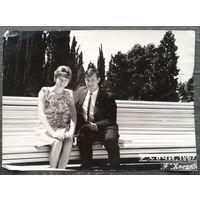 Фото. Молодежь на отдыхе в Сочи.(2) 1967 г. 13х18 см.