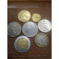 Монеты Италия. Хорошие