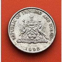 122-22 Тринидад и Тобаго, 25 центов 1998 г.