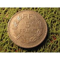 5 франков франция 1949 *703