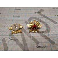 Петличные эмблемы железнодорожных войск и военных сообщений ЖДВ и ВОСО ВС СССР