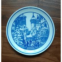 Тарелка немецкая старая