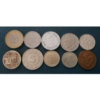 10 разных монет одним лотом. Лот 7