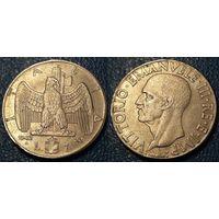 W: Италия 1 лира 1942, МАГНИТ (785)
