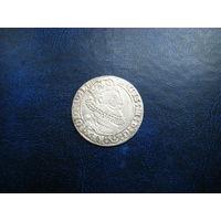 6 грошей 1625г. Сигизмунд 3 Ваза. СОХРАН.