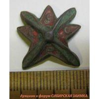 Звезда к знаку одвф (звезда с пропеллером СССР на винте)
