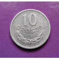 10 грошей 1971 Польша #03