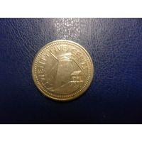 Барбадос 25 центов 1994 г