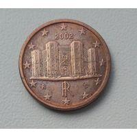 Италия 1 цент 2002, Замок Кастель-дель-Монте, KM#210