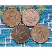 Ливан 250 ливров. Ливанский Кедр - символ Ливана.