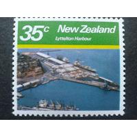 Новая Зеландия 1980 ландшафт