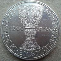 Австрия 100 шилингов 1200 лет кубку по футболу, 1977 год