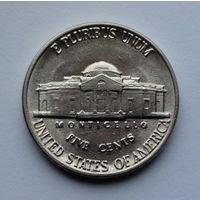 США 5 центов. 1988. D. Jefferson Nickel