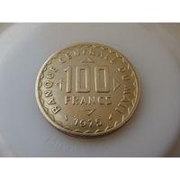 """Мали. 100 франков 1975 год  """"Кукуруза""""  КМ#10"""