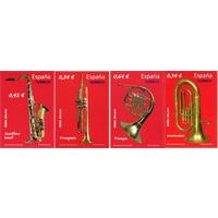 Испания 2010 Mh 4489-4497-4518-4544 музыкальные инструменты MNH** (И)