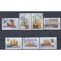 [2060] Мадагаскар 1991. Корабли,парусники. Гашеная серия.