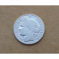 Франция, 1 франк 1887 г., серебро