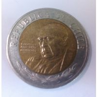 Чили 500 песо 2003