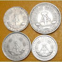 ГДР: 4 монеты 1967-1987, VF_Много лотов в продаже