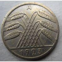 Германия. 10 рентенпфеннигов 1923 A. Довольно редкие .81