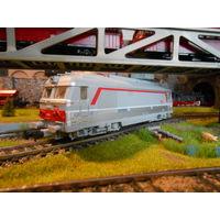 Дизельный локомотив BB 67440,1/87  PIKO HO
