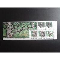 Финляндия 1993  птицы блок из буклета