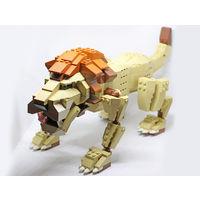 Лев LEGO, с инструкцией.