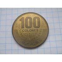 Коста-Рика 100 колон 2007г.km240a