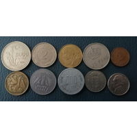 10 разных монет одним лотом. Лот 8