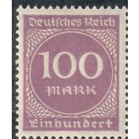 Deutrches Reich Германия  1923 Mi 268  Рейх