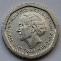 Ямайка, 5 долларов 1995 г
