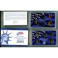 2005г.Пруф набор США.