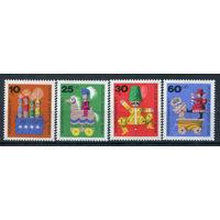 Берлин - 1971г. - Старые деревянные игрушки - полная серия, MNH [Mi 412-415] - 4 марки