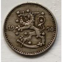 Финляндия 1 марка, 1930 1-2-34