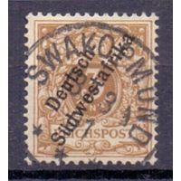 Германия Юго-Западная Африка 3 пф 1898 г