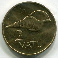 (A5) ВАНУАТУ - 2 ВАТУ 1990 UNC