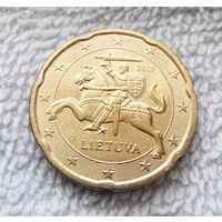 20 евроцентов 2015 Литва #06