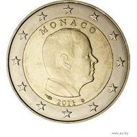 2 Евро Монако 2011 г.