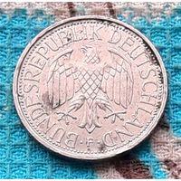 Германия 1 марка 1992 года. Монетный двор F. Инвестируй выгодно в монеты планеты!