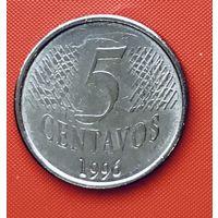 18-06 Бразилия, 5 сентаво 1996 г.