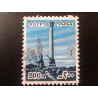 Египет 1978 памятник в Александрии