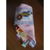 """Детская развивающая игрушка-салфетка с ярлычками """"Little TAGGIE""""(USA)."""