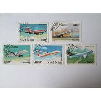 ВЬЕТНАМ 1992 Гражданские лайнеры мира 5 типов