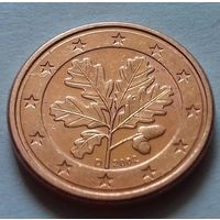 1 евроцент, Германия 2002 D