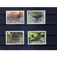 Птицы 2014 год на марках острова Кука