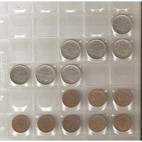 Расспродажа коллекции!!! Погодовка Франции 5 и 10 франков